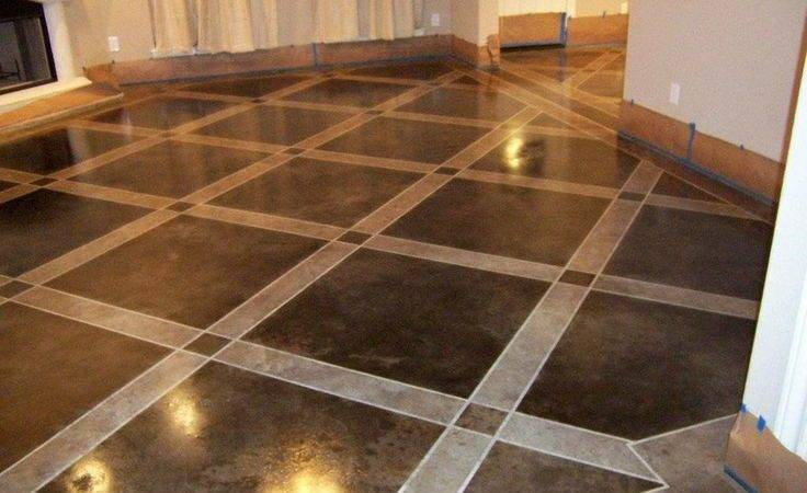 Painted Concrete Floors Floor Paint Tutorial