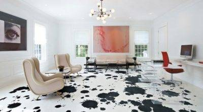 Painted Floors Modern Style