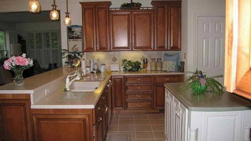 Painted Kitchen Cabinets Brown Quicua