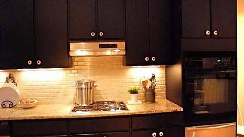Painted Kitchen Cabinets Dark Brown Quicua