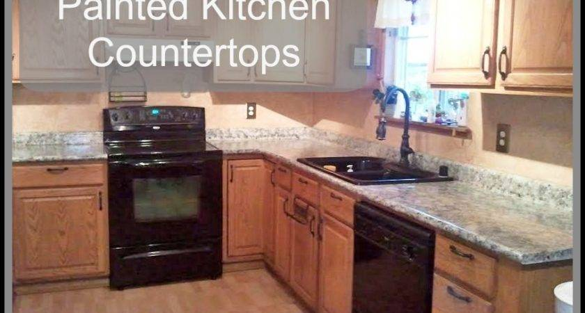 Painted Kitchen Countertops Just Paint Blog