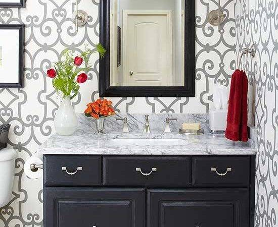 Painting Bathroom Cabinets Better Homes Gardens