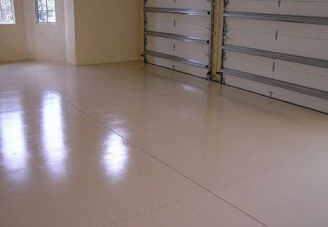 Painting Concrete Floors More Finished Look