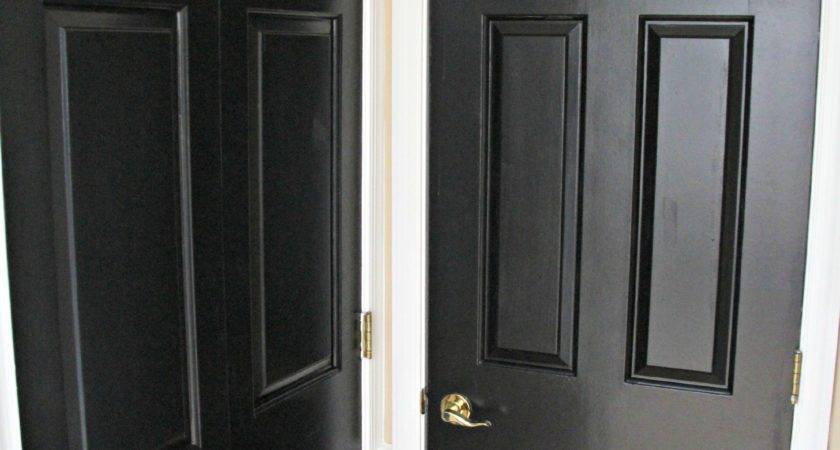 Painting Interior Doors Black Kiss List
