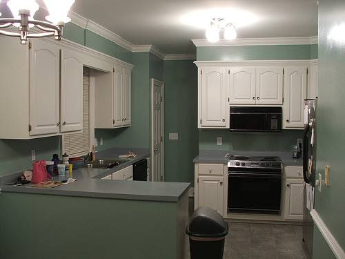 Painting Kitchen Cabinets Ideas Homes