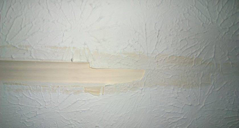 Painting Repair Textured Ceiling Texture Home
