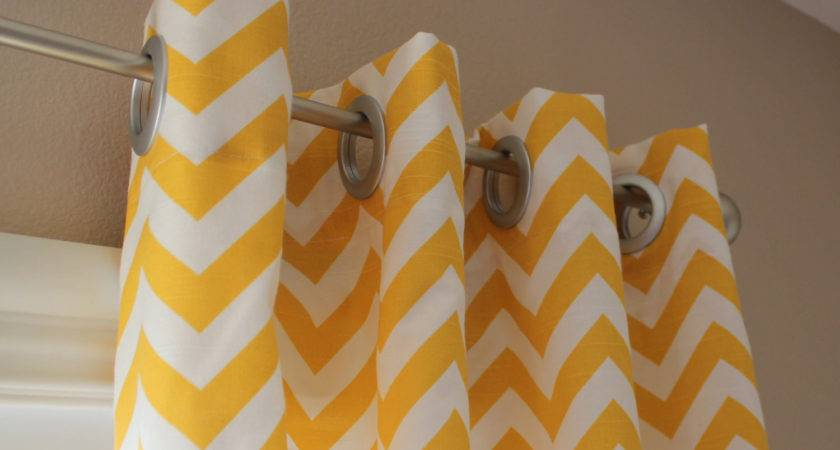 Pair Designer Custom Curtain Panels Yellow