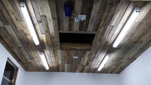 Pallet Ceiling Ideas Recycled Upcycled