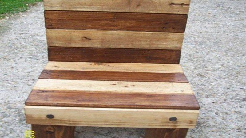 Pallet Chairs Plans Ideas Recycled