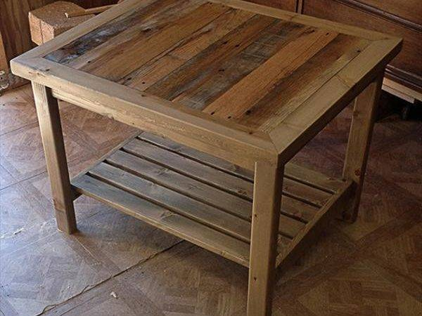 Pallet Coffee Table Plans Decor References
