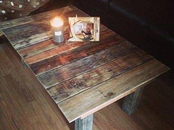 Pallet Coffee Tables Diy Wood Projects Ideas