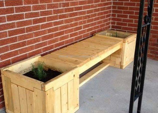 Pallet Garden Bench Ideas Furniture Projects