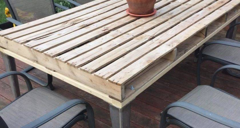 Pallet Patio Coffee Table Furniture