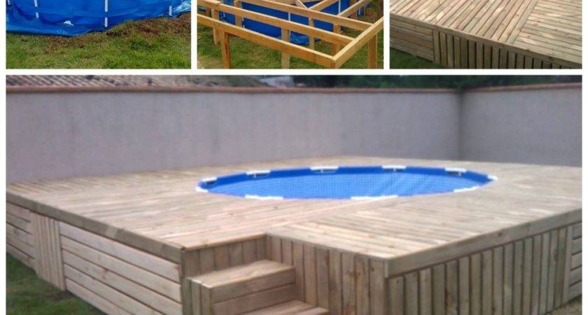 Pallet Swimming Pool Deck Andrea Notebook