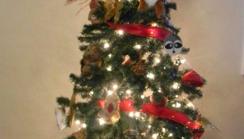 Pams Party Practical Tips Woodland Themed Christmas Tree