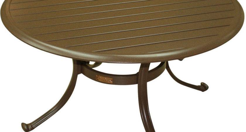 Panama Jack Island Breeze Patio Coffee Table Slatted