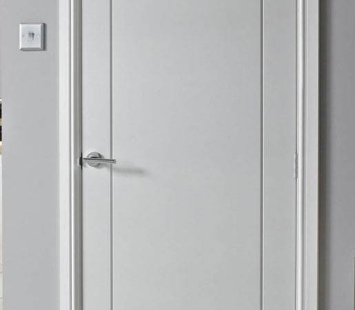 Panel Smooth White Primed Door