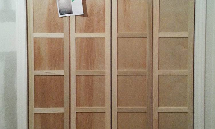 Paneled Fold Closet Door Diy Room Tuesday