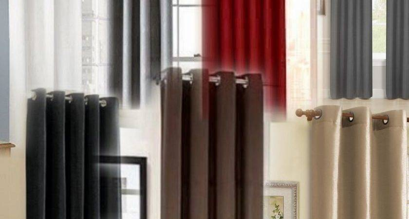 Panels Silk Blackout Lined Thermal Grommet Window