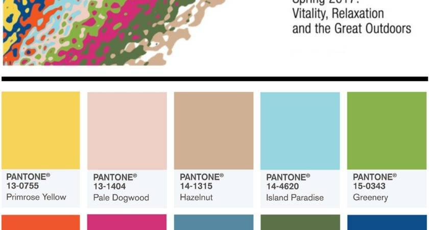 Pantone Top Spring Summer Color Trends Hot