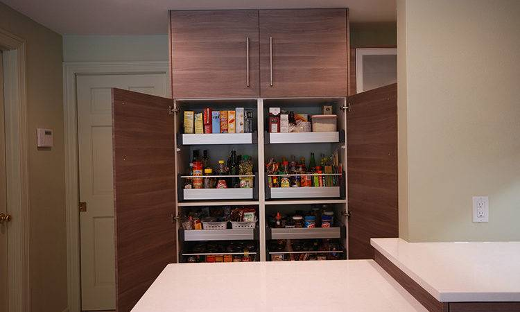Pantry Cabinet Inch Kitchen Remodel