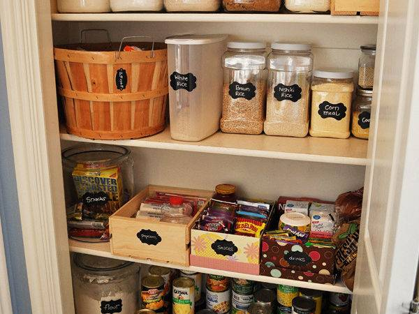 Pantry Makeover Housewife Eclectic