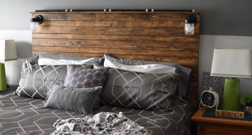 Paper Paint Pine Diy Wooden Plank Headboard