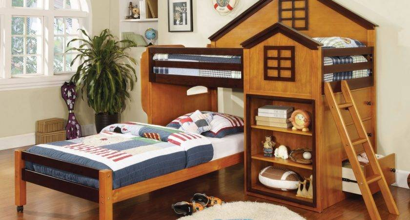 Parker House Design Twin Loft Bed Storage Bunk Beds