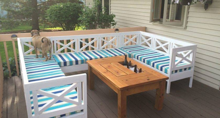 Patio Table Built Beer Wine Coolers Marvelous Ana