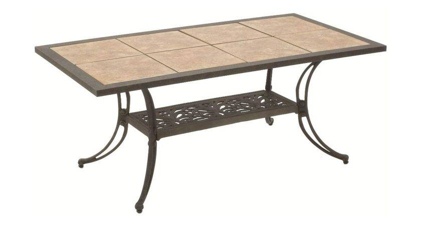 Patio Tile Top Tables Ordinary