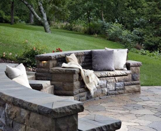 Pavers Create Ourdoor Seating