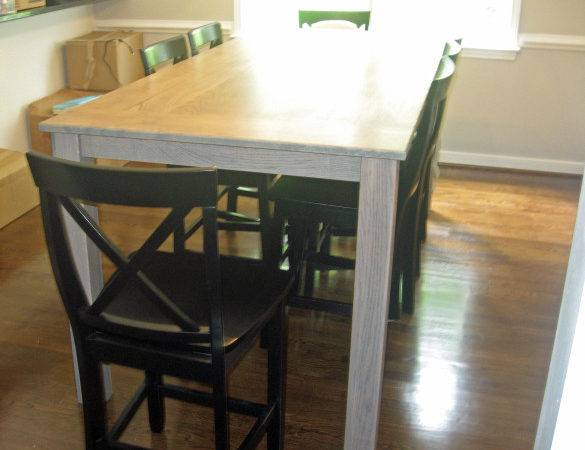 Pdf Counter Height Dining Table Plans Diy