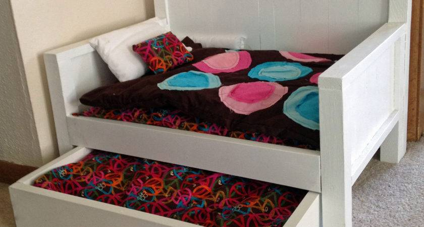 Pdf Diy American Girl Doll Trundle Bed Plans