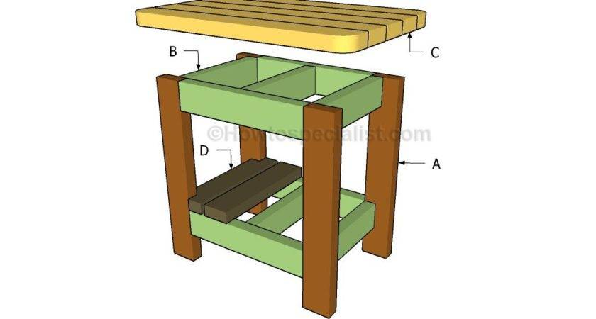 Pdf Diy Plans Outdoor Side Table Wood