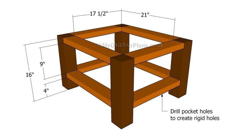 Pdf Plans End Table Basic Wood Working