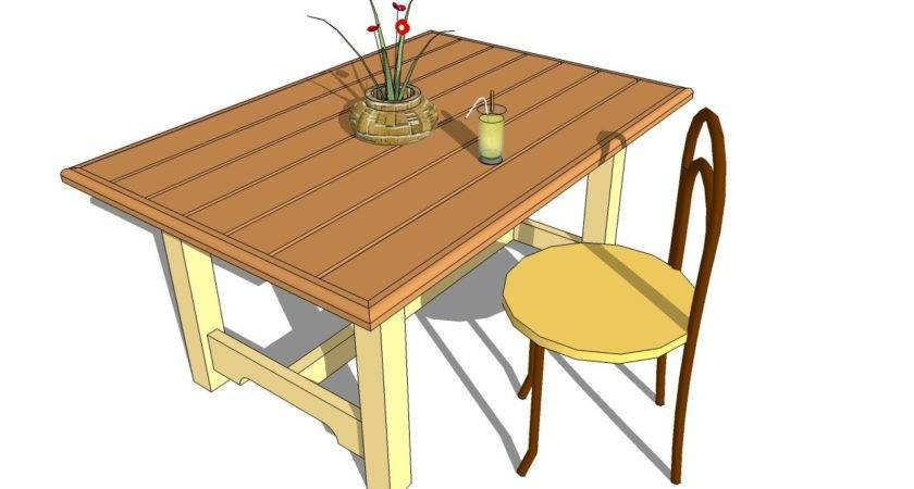 Pdf Table Plans Outdoor