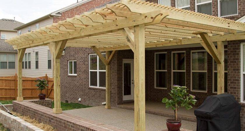 Pergola Over Deck Thediapercake Home Trend