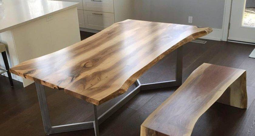 Personable Live Edge Dining Room Tables Toronto