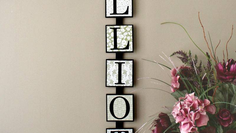 Personalized Last Name Wall Art Timelessnotion