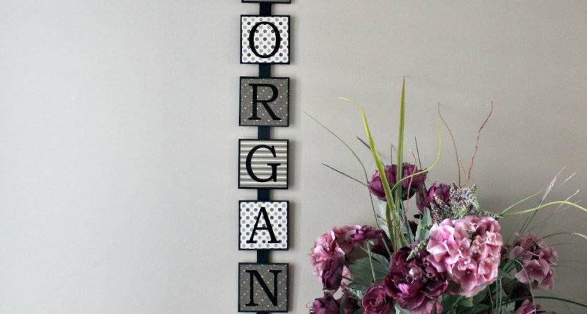 Personalized Last Name Wall Art Wooden