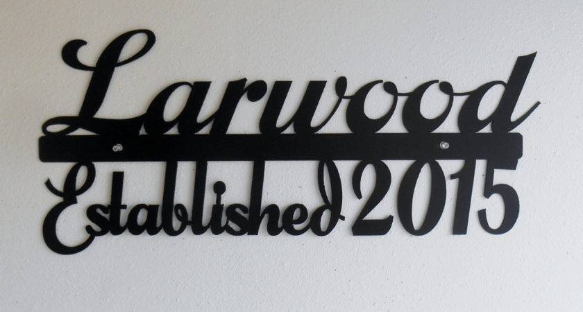 Personalized Wall Art Last Name Takuice