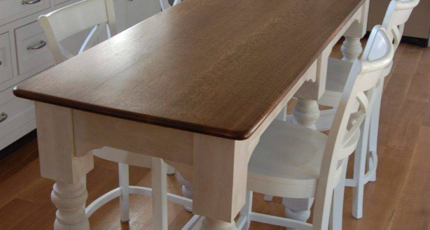 Piece Counter Height Kitchen Table Ward Log Homes