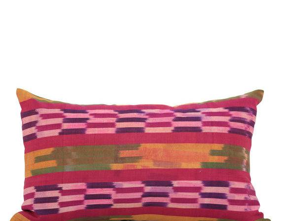 Pillow Cover Ikat Old