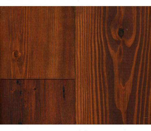 Pine Flooring Dark Stained