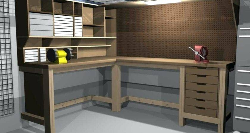 Plans Building Wooden Workbench Quick Woodworking