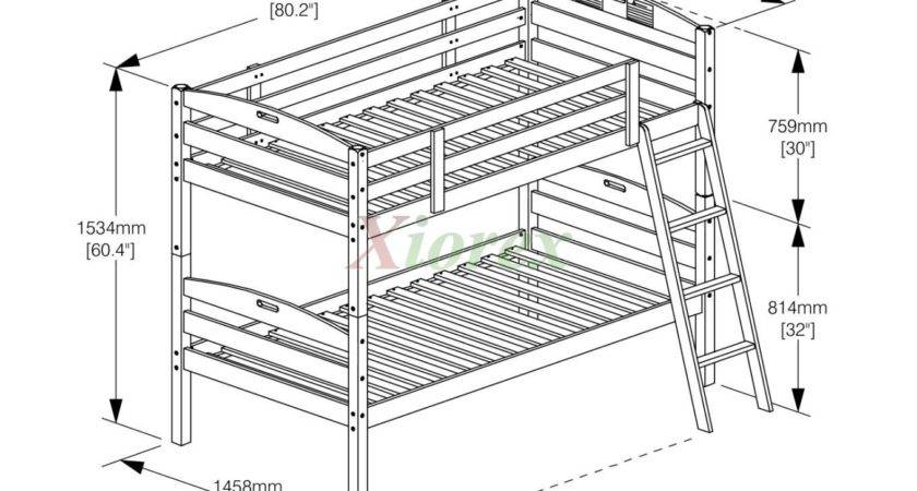 Plans Twin Bunk Beds Woodworking