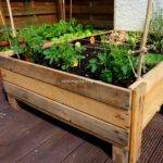 Planter Boxes Out Pallets Recycled Things