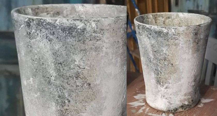 Planters Amazing Cement Flower Pots