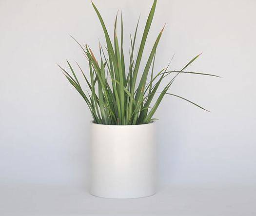 Planters Awesome White Modern Planter Contemporary