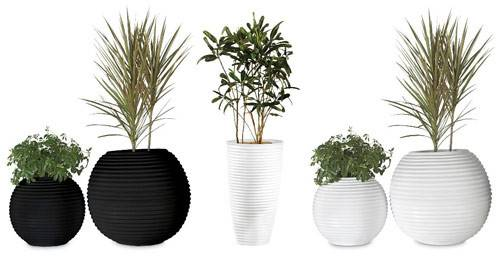 Planters Awesome White Modern Planter Indoor